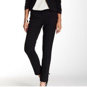 Amanda + Chelsea black slim fit narrow leg pants